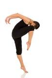 El practicar femenino del bailarín Fotografía de archivo