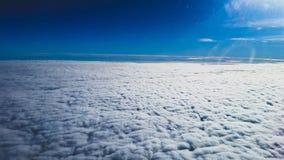 El practicar surf de la nube Fotografía de archivo