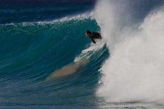 El practicar surf del error del juicio Imagenes de archivo