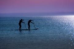El practicar surf fácil Fotografía de archivo libre de regalías