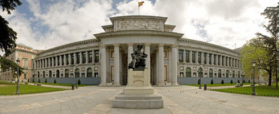 El Prado Museum stock photography