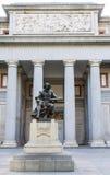 El Prado Museum. At Madrid, Spain Stock Photography