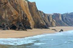 El Praia hace a Guincho Santa Cruz, Portugal Imágenes de archivo libres de regalías