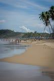 El Praia hace Paiva, Pernambuco - el Brasil Imagenes de archivo