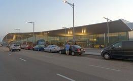 El Prat巴塞罗那机场终端T1  库存图片
