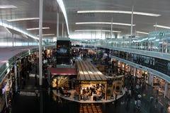 EL Prat Airside do T1 Barcelona Foto de Stock Royalty Free