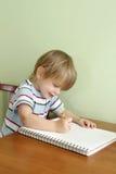 El preescolar embroma la educación Imagen de archivo libre de regalías