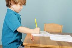 El preescolar embroma la educación Foto de archivo libre de regalías