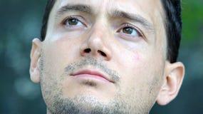 El preguntarse masculino italiano sin afeitar Imagen de archivo
