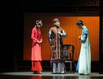 El preludio dispuesto de la boda- de los eventos del drama-Shawan de la danza del pasado Imagen de archivo libre de regalías
