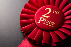 El premio para el segundo lugar Imagenes de archivo