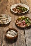 El prik del nam de la cocina o la goma tailandés del chile se mezcla imagen de archivo libre de regalías