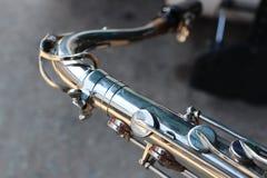 El primer Alto Saxophone se puede jugar en muchos estilos de la música, si el it& x27; estilo clásico de s, estallido, jazz fotos de archivo