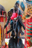 El primer de la estatua china del monje Imagen de archivo