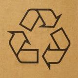 Recicle la etiqueta Fotos de archivo