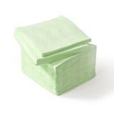 Pila de servilletas de papel Fotos de archivo libres de regalías