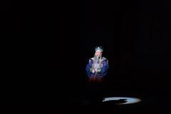 El primer ministro del Shan del €œFu de Qing Dynasty-Shanxi Operaticâ al  de Beijing†Imágenes de archivo libres de regalías