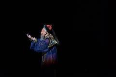 El primer ministro del Shan del €œFu de Qing Dynasty-Shanxi Operaticâ al  de Beijing†foto de archivo libre de regalías