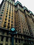 El primer rascacielos de São Paulo City Foto de archivo libre de regalías