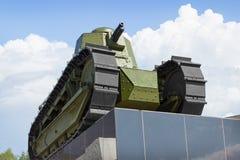 El primer tanque soviético ruso Imagenes de archivo