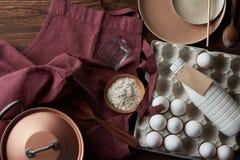 El proceso de cocinar Imagen de archivo libre de regalías