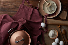El proceso de cocinar Fotografía de archivo