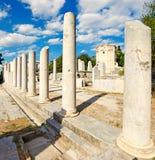 El Propylon del este, Grecia Imagen de archivo