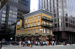 El Pub de Albert en Londres imágenes de archivo libres de regalías