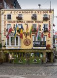 El pub de Oliver St John Gogarty, Dublin Ireland fotos de archivo