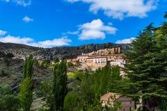 El pueblo de Albarracin, Teruel, España Imagenes de archivo