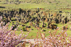 El pueblo de Cabarceno Fotos de archivo