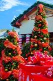 El pueblo de Papá Noel Imagen de archivo libre de regalías