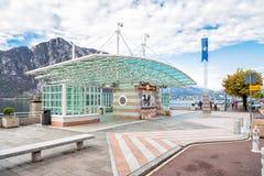 El pueblo del d'Italia de Campione en el lago Lugano Fotos de archivo libres de regalías