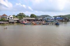El pueblo del pescador Fotos de archivo