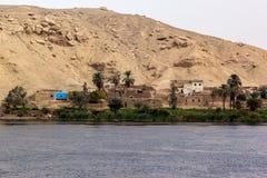 El pueblo deposita el Nilo Imagenes de archivo