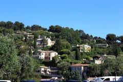El pueblo en Provence Imagen de archivo