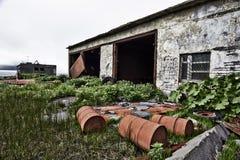 El pueblo fantasma imagenes de archivo