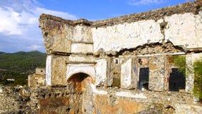 El pueblo fantasma Kayaköy Turquía Fotografía de archivo libre de regalías