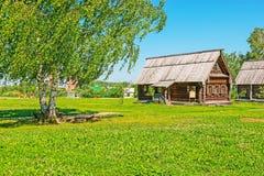 El pueblo ruso en Suzdal Fotos de archivo libres de regalías