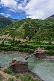El puente antiguo de Bori Fotos de archivo libres de regalías