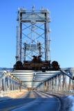 El puente conmemorativo de Portsmouth conecta New Hampshire y Maine Fotos de archivo libres de regalías