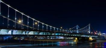 El puente crimeo Imagen de archivo libre de regalías