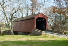 El puente cubierto de Loy Imagenes de archivo