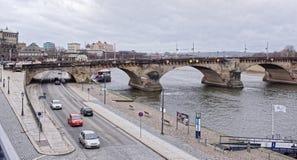 El puente de Augustus Fotografía de archivo