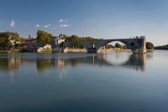 El puente de Avignon, Francia fotografía de archivo libre de regalías