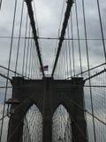 El puente de Brooklyn Nueva York Imagen de archivo