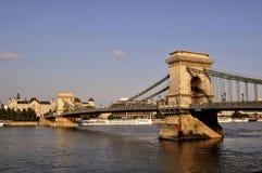 El puente de cadena Fotos de archivo