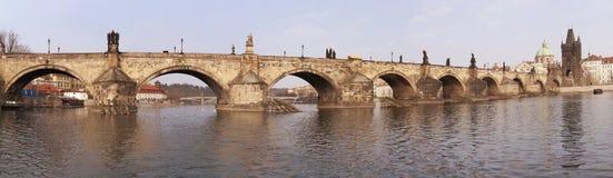 El puente de Charles Foto de archivo libre de regalías