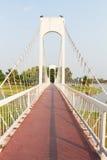 El puente de cuerda del metal imagen de archivo