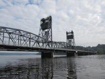 El puente de elevación de Stillwater Foto de archivo libre de regalías